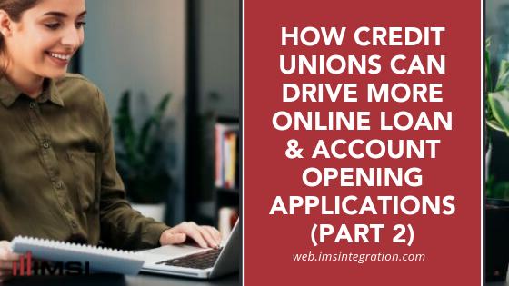 Web Loan & Online Account Opening