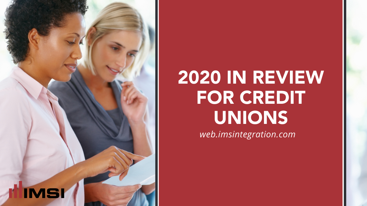 2020 In Review for Credit Unions