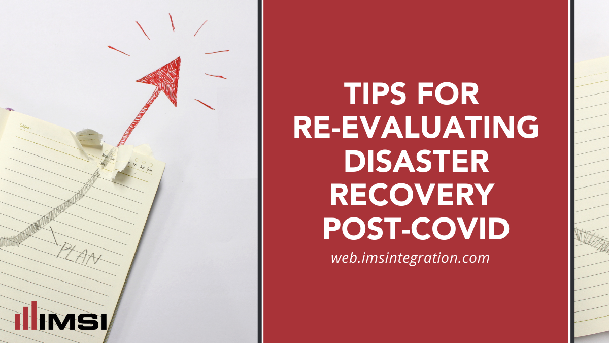 disaster recovery post-covid
