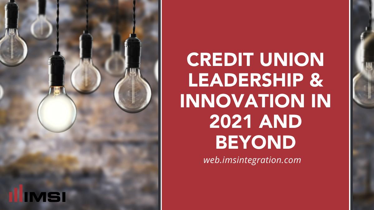 credit union leadership and innovation